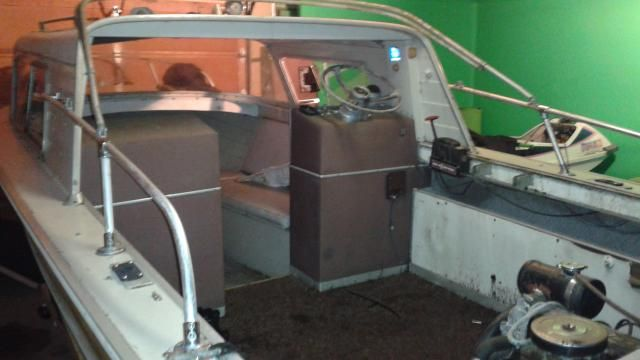 1964 Starchief Restoration Page 1 Iboats Boating Forums 9064206 Classic Boats Boat Carver Boats