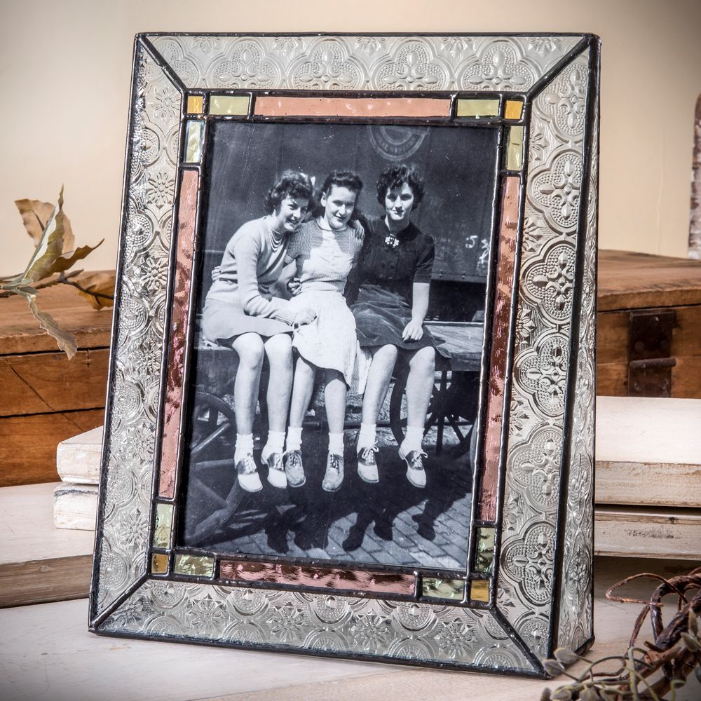 J devlin pic 137 57v 5x7 vertical double sided picture frame glass picture frames httpunchartedvisionsj devlin pic jeuxipadfo Image collections