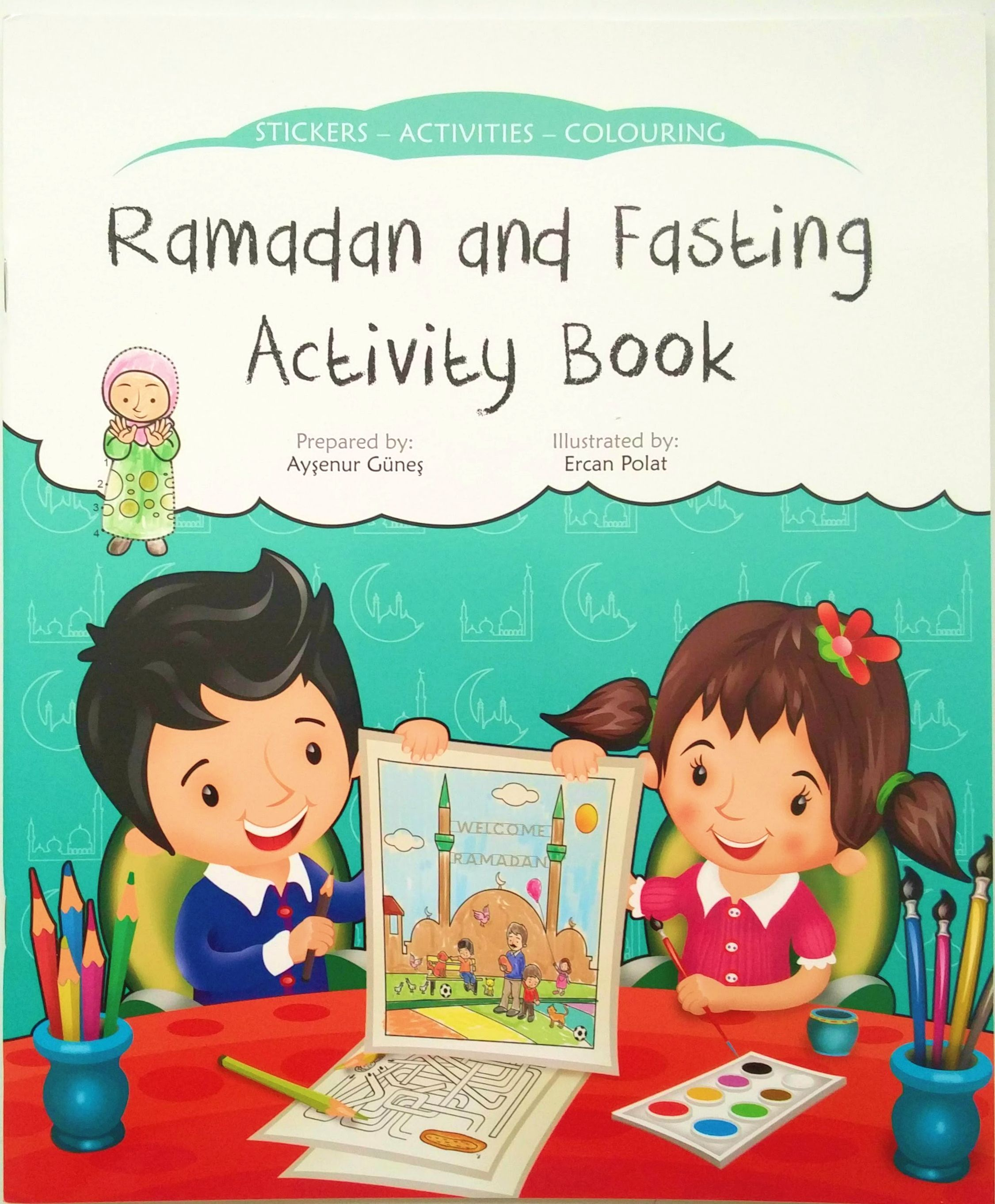 Ramadan Sticker Activity Book Sign Up To The Vip Club To
