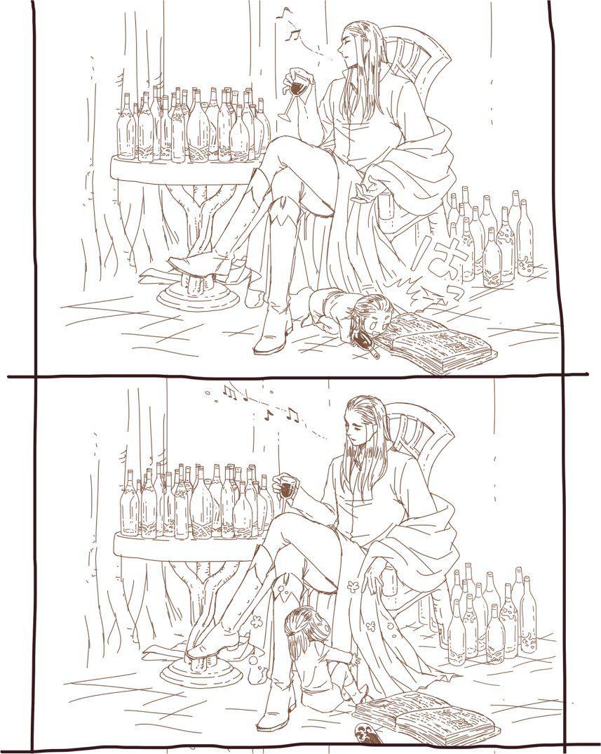legolas   Tumblr   Thranduil & Legolas   ฮอบบิท และ ตัวละครแฟนตาซี
