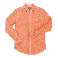 Stylehomme 90059 린넨 셔츠 (Orange)