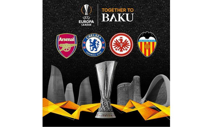 Baki Yolunda Dord Yolcu Qaldi Novator Az Europa League Arsenal Juventus Logo