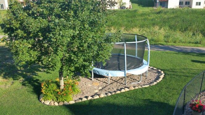 Trampoline Landscaping Ideas Hage
