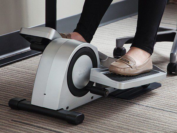 Cubii Under Desk Elliptical Pedal Through The Day At Work Quiet Lightweight And Bluetooth Connected This Mini Packs A Lot Into Machine That