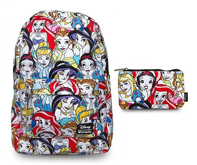 13330c0099d6 Loungefly Disney Backpack Back Pack   Pencil Case Bundle Set ...