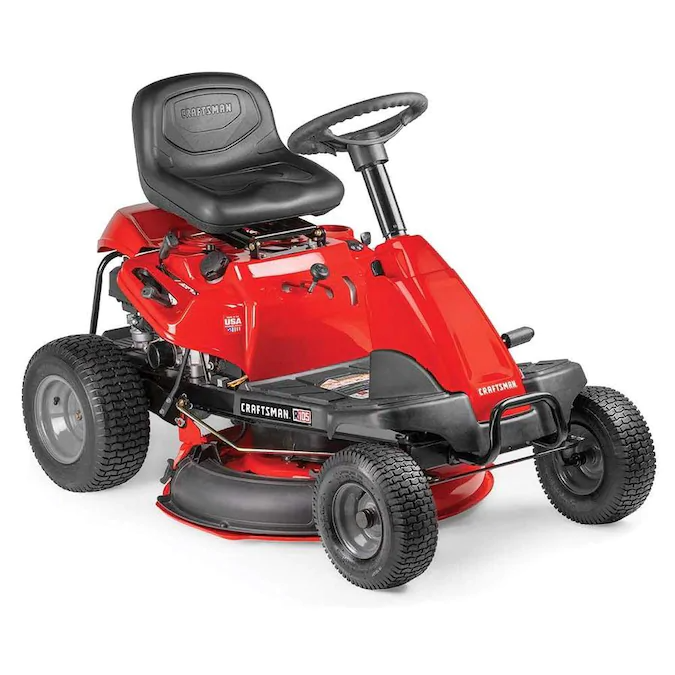 Craftsman R105 Hp Manual Gear 30 In Riding Lawn Mower With Mulching Capability Included Carb Lowes Com Best Riding Lawn Mower Lawn Mower Riding Mower