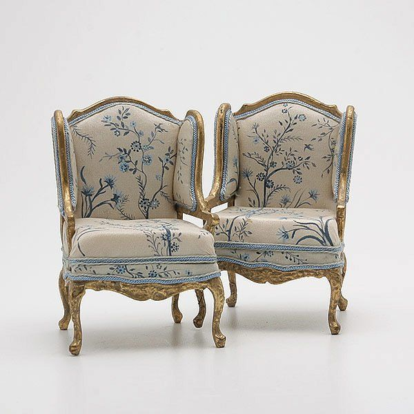 Collection Of French Style Doll House Furniture Lot 848 Dollhouse Furniture Doll House Doll Furniture
