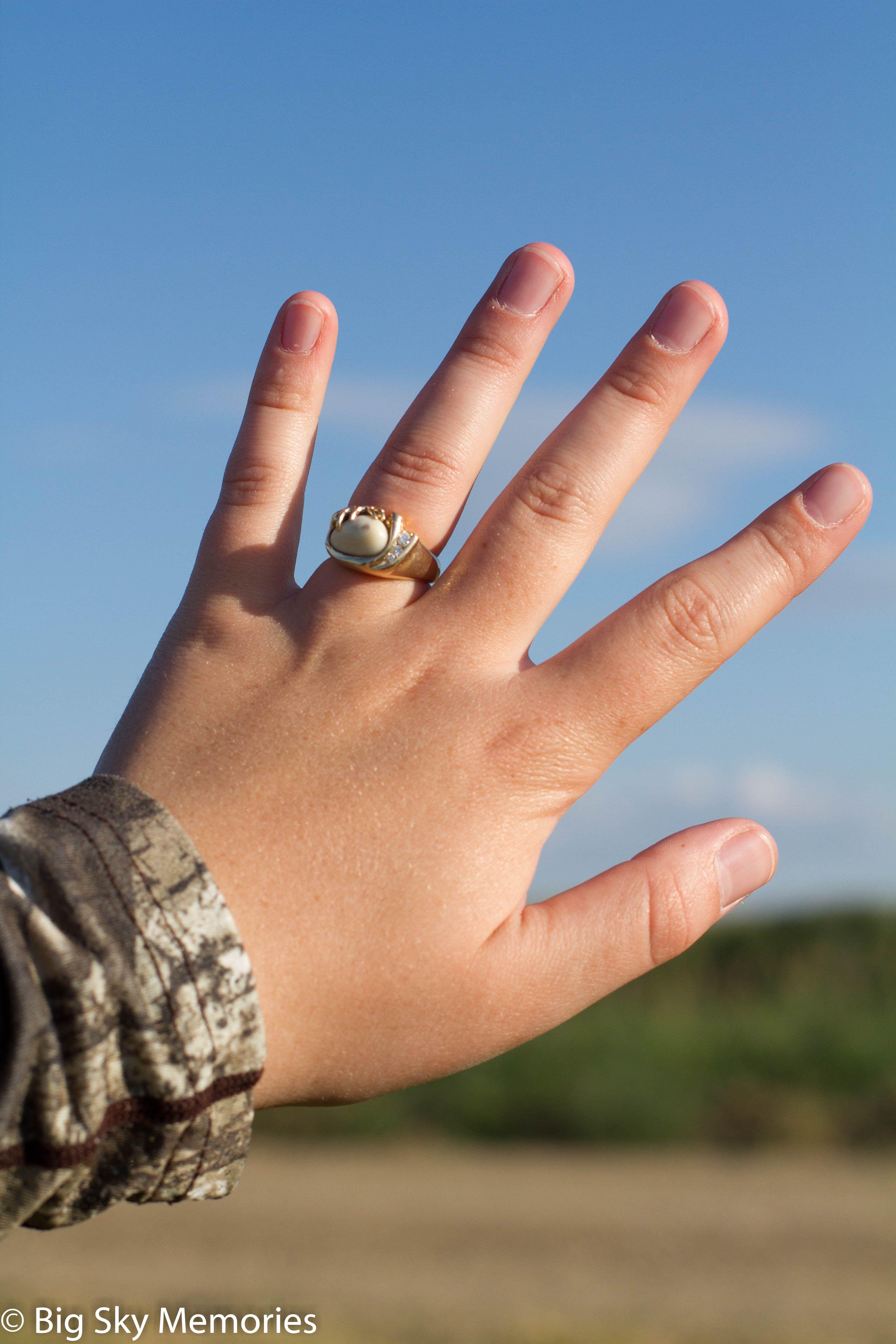 Elk Ivory Engagement Ring Ivory Ring Dream Engagement Rings