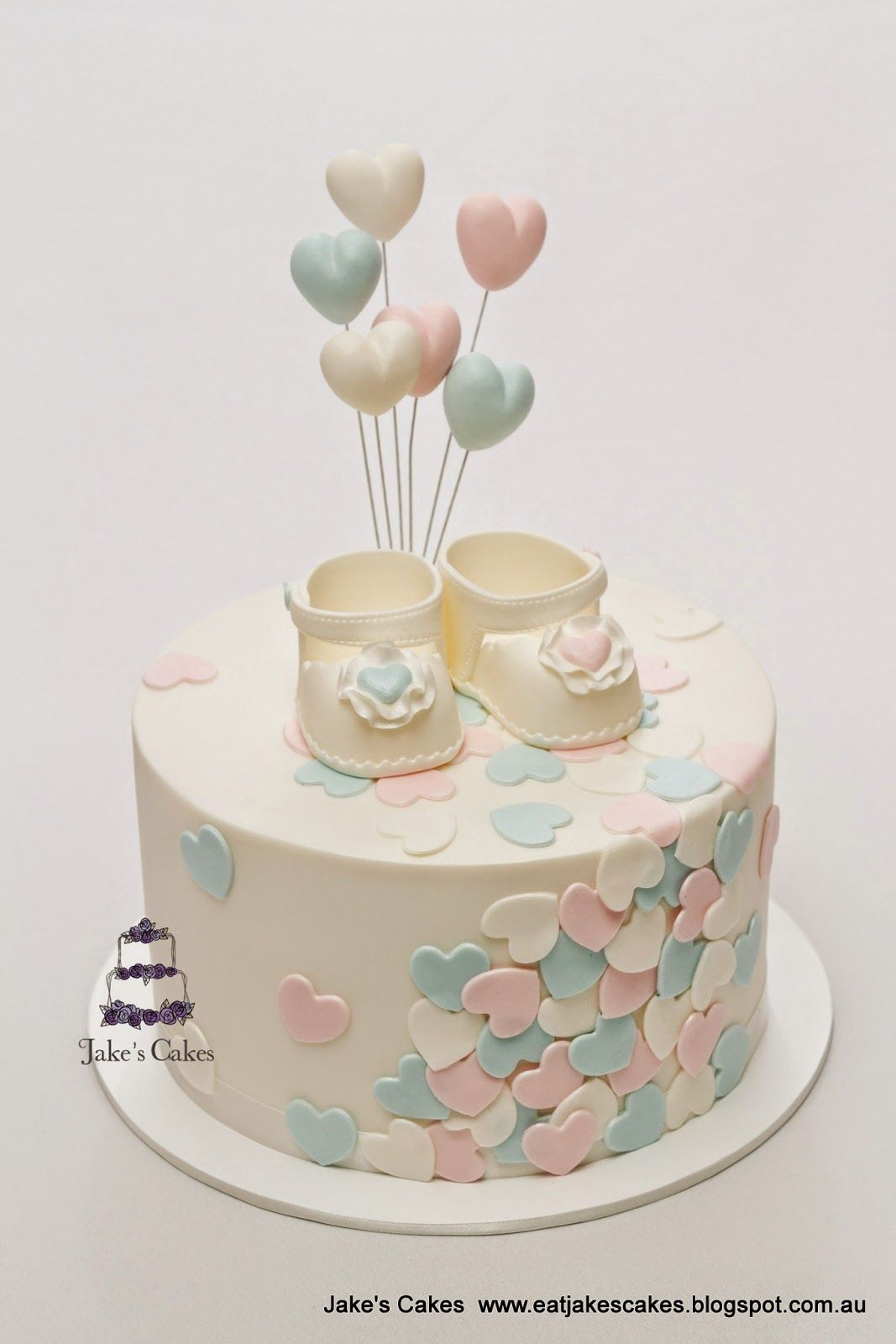 Sophisticated Baby Shower Cakes