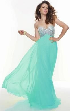 Unique Long Kelly Tailor  Made Evening Prom Dress (LFNAF0116)  http://www.marieprom.co.uk/