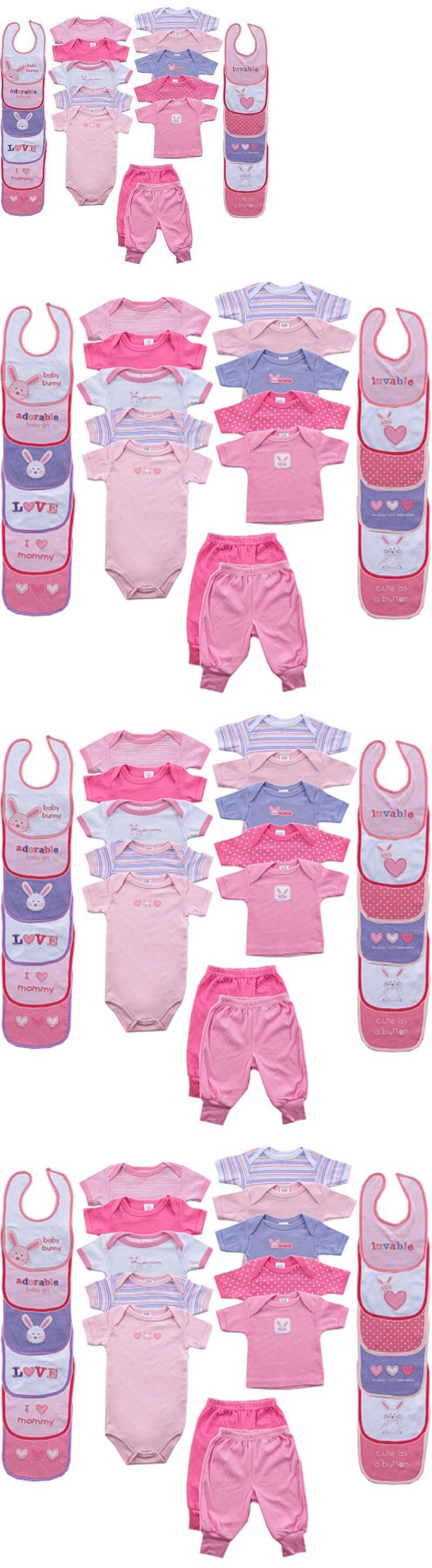 Outfits and Sets Set Gift 24 Pcs Pink Newborn 0 3 Baby Girl