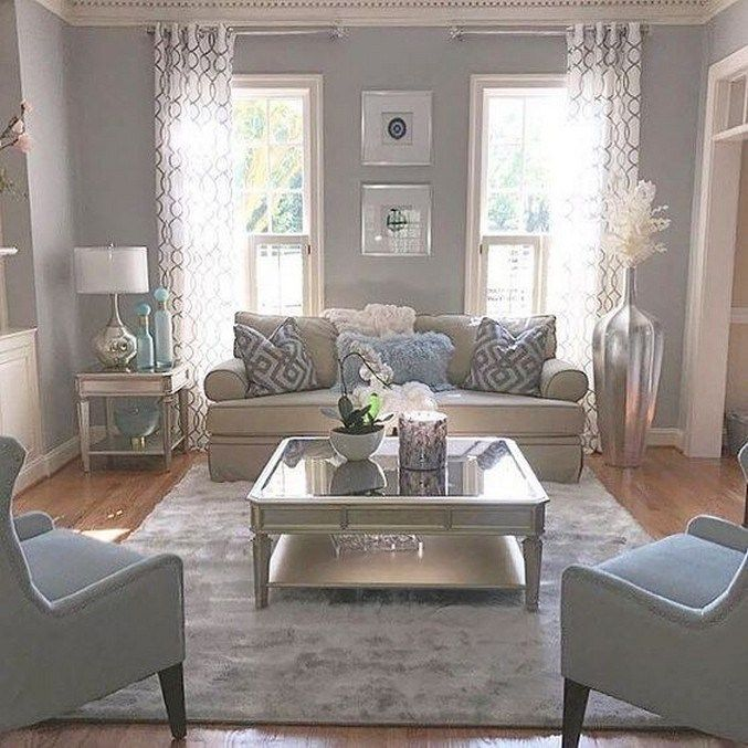 14 Small Living Room Decorating Ideas: 57 Beautiful Comfy Living Room Design Ideas 14