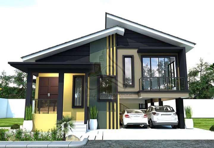 Image Result For Design Rumah Kampung Moden Design Rumah Design House Design