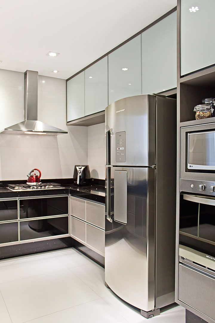 A concepção arquitetônica e o design de interiores deste sobrado em - modelos de cocinas