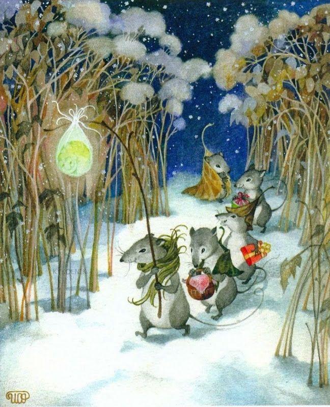 Картинки детские зимние сказки