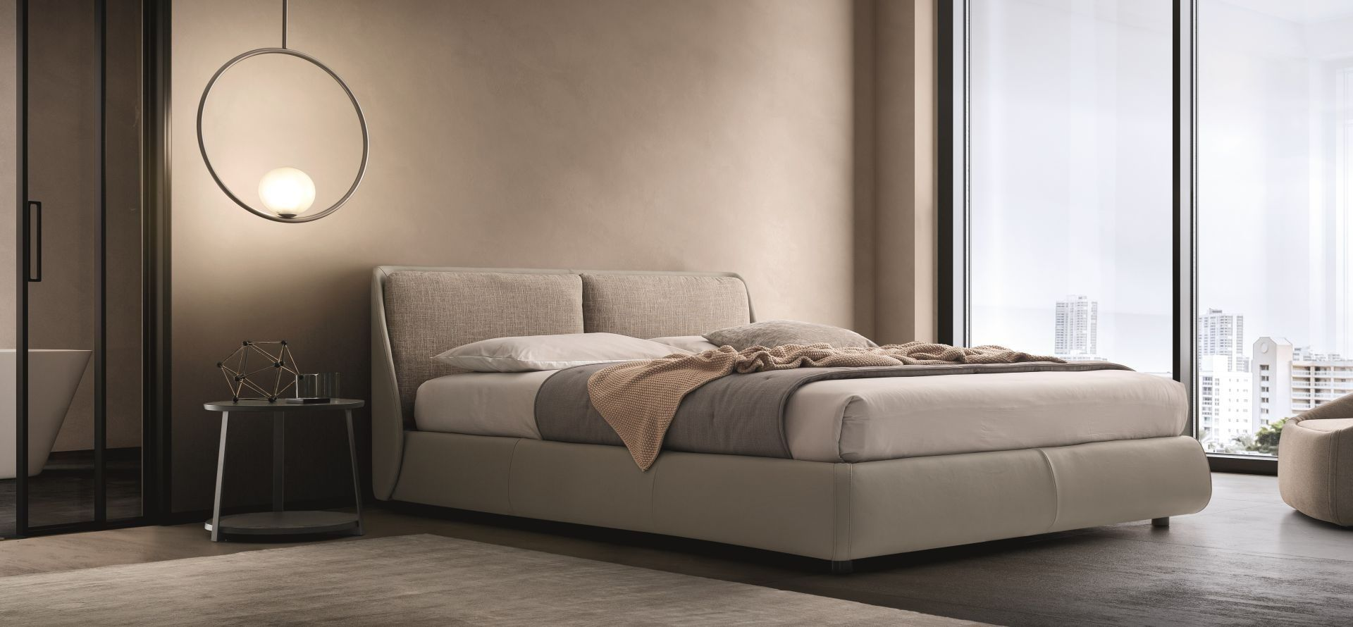 BEND Ditre Italia in 2020 Leather bed, Italian leather