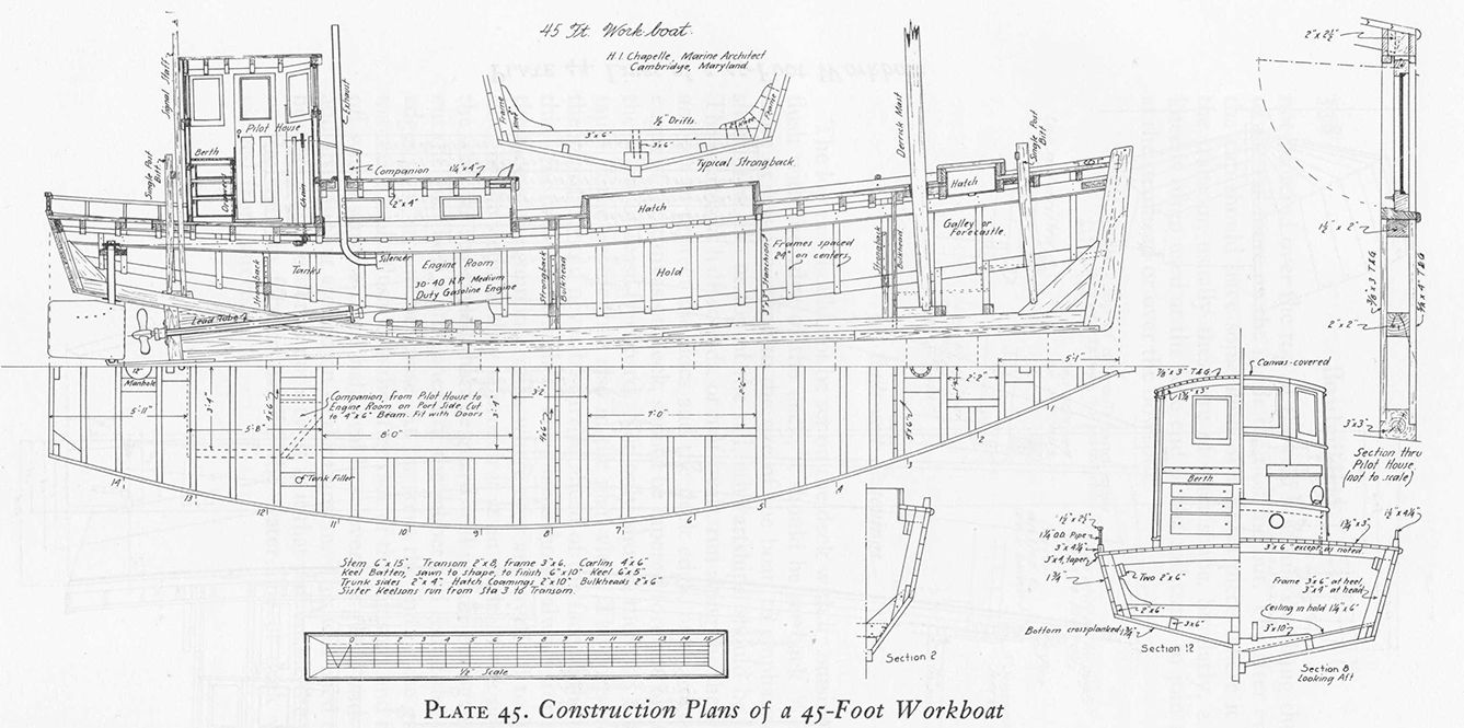 Work Boat Plans | DIY Woodworking