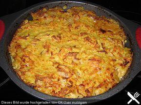 Geschnetzeltes mit Kartoffelhaube von ulkig | Chefkoch