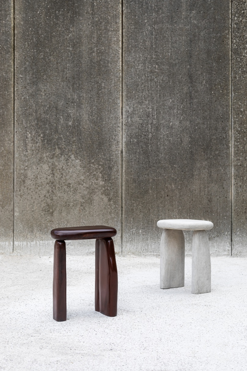 Linde Freya Tangelder Is Designer Of The Year 2019 Biennale Interieur Sculptural Furniture Side Table Design Milk