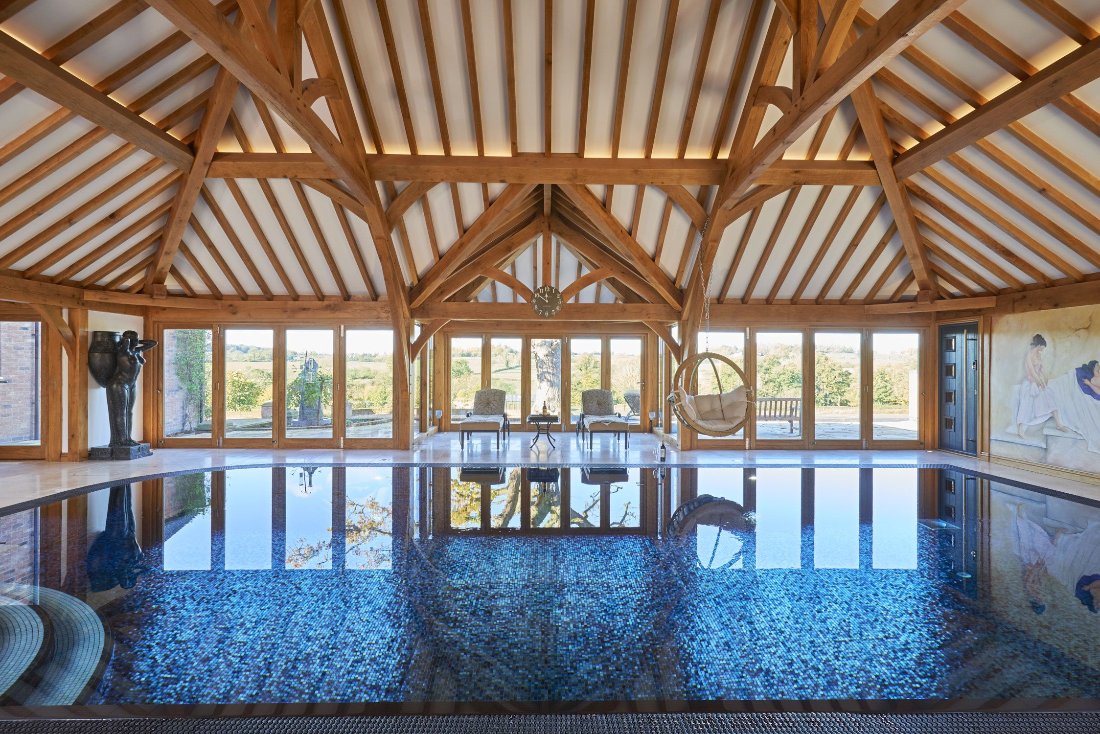 Stunning Oak Framed Pool Room By Our Sister Company Arboreta