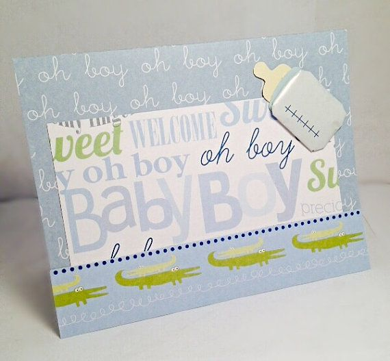 It's a Boy 3 by JBRCards on Etsy So cute for a baby shower!  My favorite!