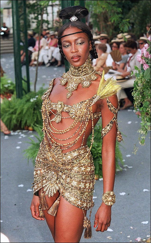 The Dior That Was — A Look at the John Galliano Era, 1996-2011 Naomi Campbell in Fall 1997 couture