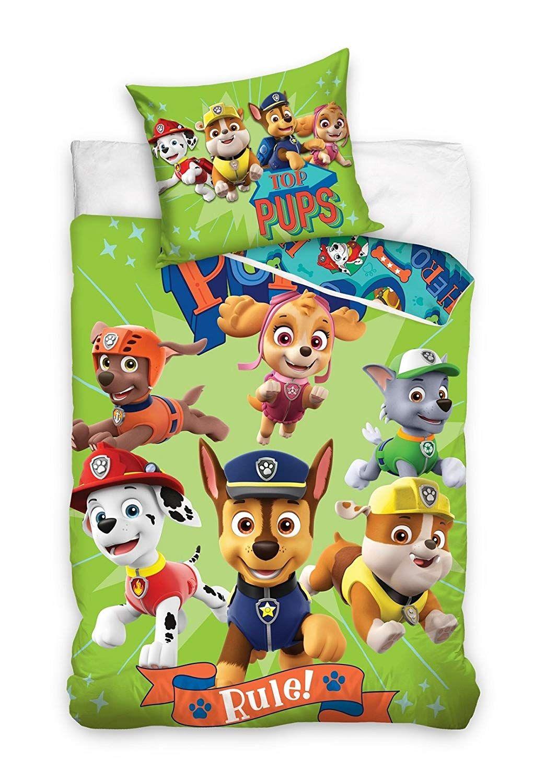 Paw Patrol Bettwäsche 140x200 100 Baumwolle Kinderzimmer Kinder
