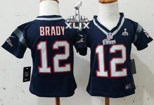 12 Tom Brady, #87 Rob Gronkowski - Nike Patriots Navy Blue-Grey ...