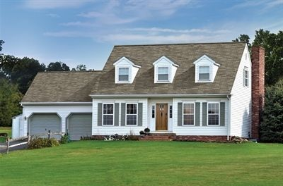 Best Gaf Royal Sovereign Weathered Gray Ranch Style Homes 400 x 300