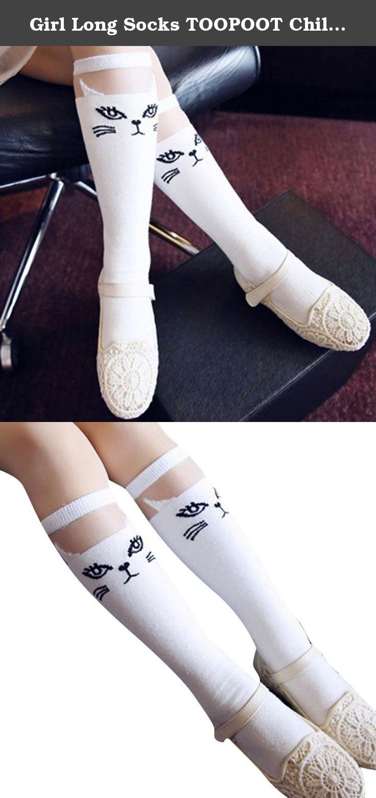 get new outlet store sale free shipping Girl Long Socks TOOPOOT Children Girl :Preppy Style Printing ...