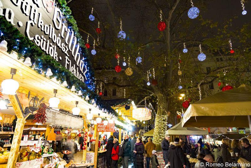 Vorosmarty Square Budapest Christmas Market.Cruising The European Christmas Markets Of The Danube River
