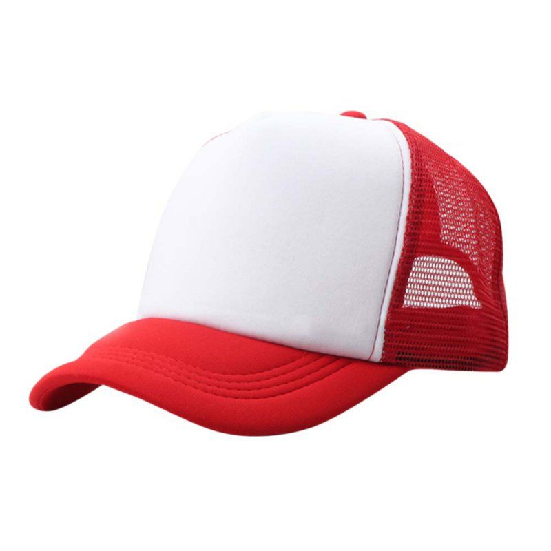 Adjustable Child Solid Casual Hats for New Classic Trucker Summer Kids  Baseball Mesh Cap Sun Hats baseball cap 10 colors  Affiliate 35cb7b8c808