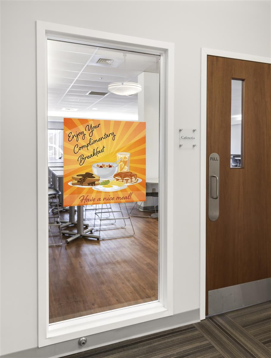 Design Your Own Custom Vinyl Window Clings With Full Color Custom Graphics In 2020 Window Vinyl Window Clings Custom Window Clings