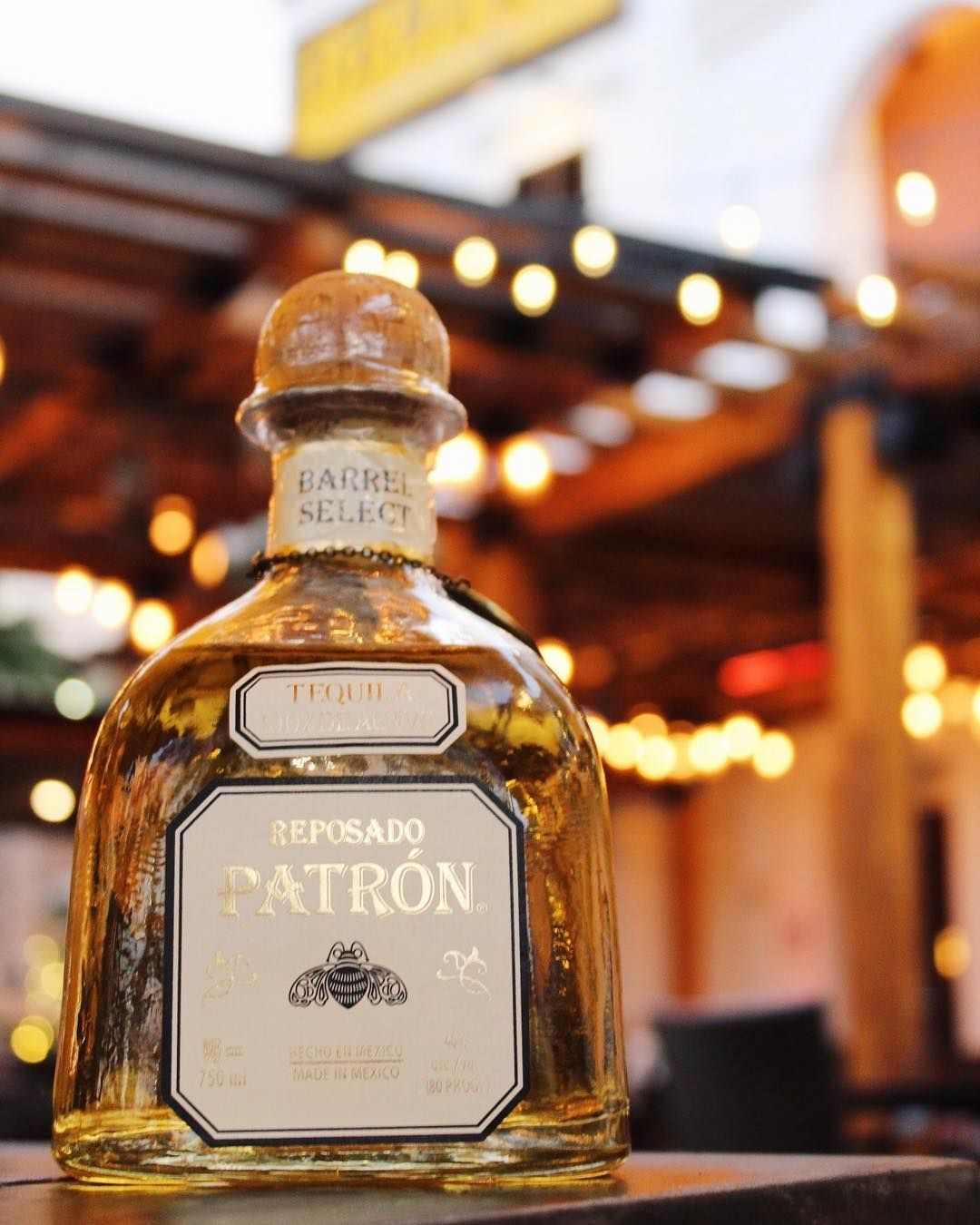 It's almost the weekend.... start your happy hour with the smoothness of Patron. #NotYourAverageMexican