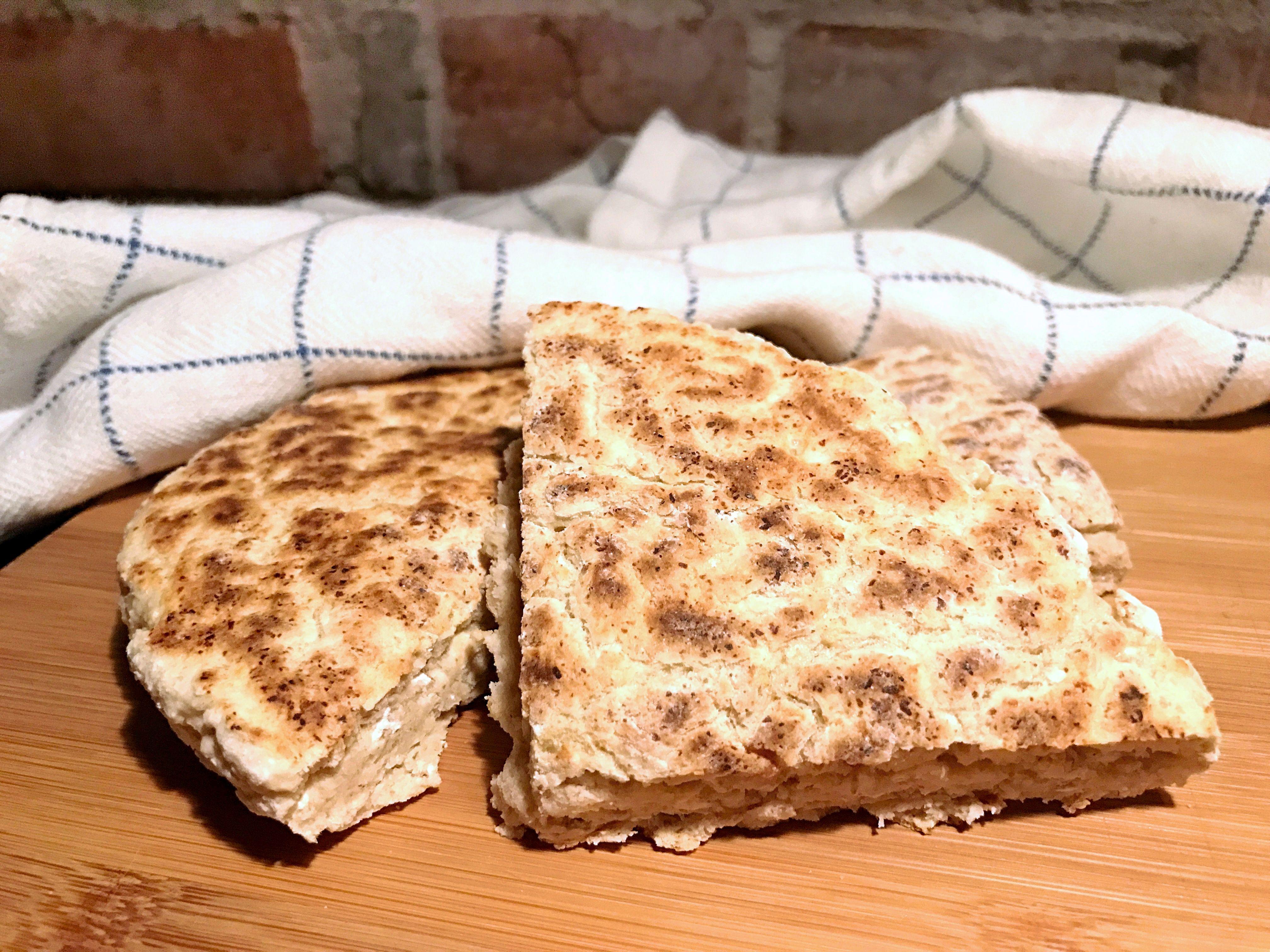 enkelt glutenfritt bröd