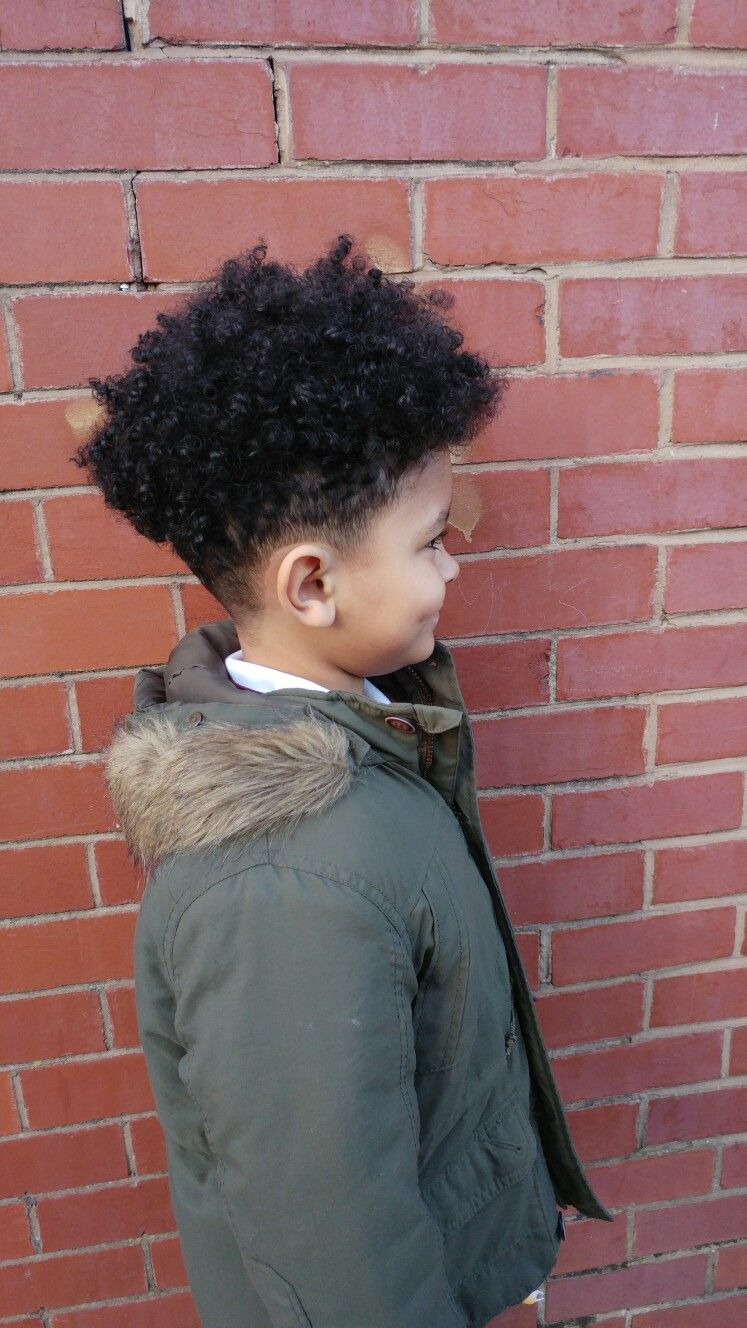 high top fading, mixed race long hair boy | dope | curly