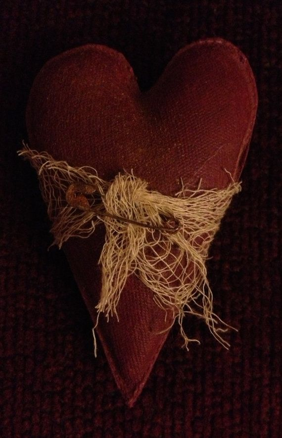 Primitive Hearts And Stars Bowl Fillers Heart Crafts Valentine