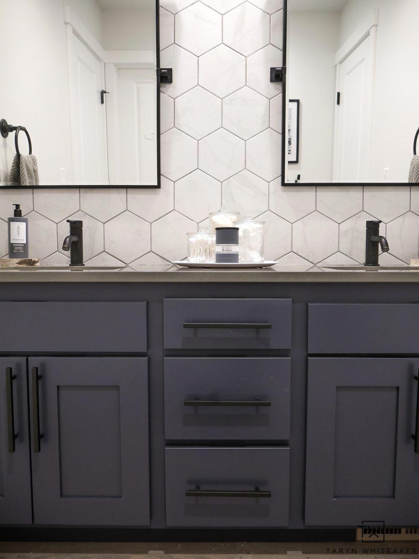 Photo of Double Sink Bathroom Vanity Makeover – Taryn Whiteaker