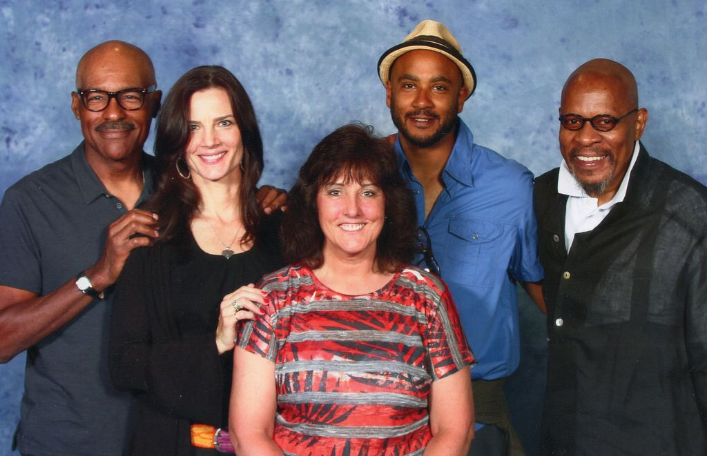 With Star Trek Deep Space 9 Cast | Deep space, Star trek ds9