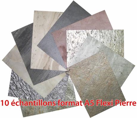 Flexi-pierre, feuille de pierre naturelle pour placage mural et au ...