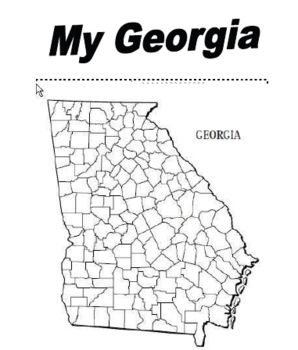A book about Georgia that is aligned to second grade