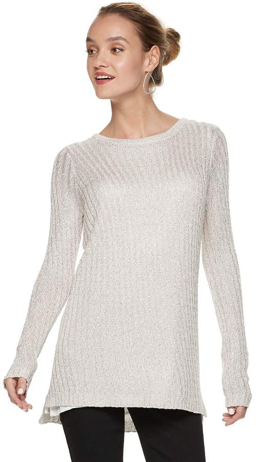 8e364e390747 Apt. 9 Women s Sequin Mock-Layer Tunic in 2019