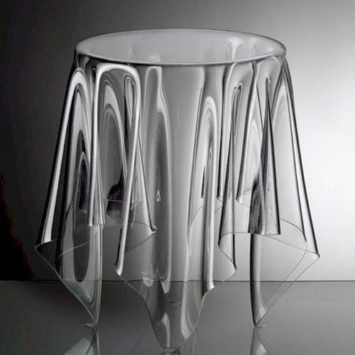 Grand Illusion Table By John Brauer For Essey Couchtisch Mit Glasplatte Wohnzimmer Tisch Weiss Acryl Beistelltisch