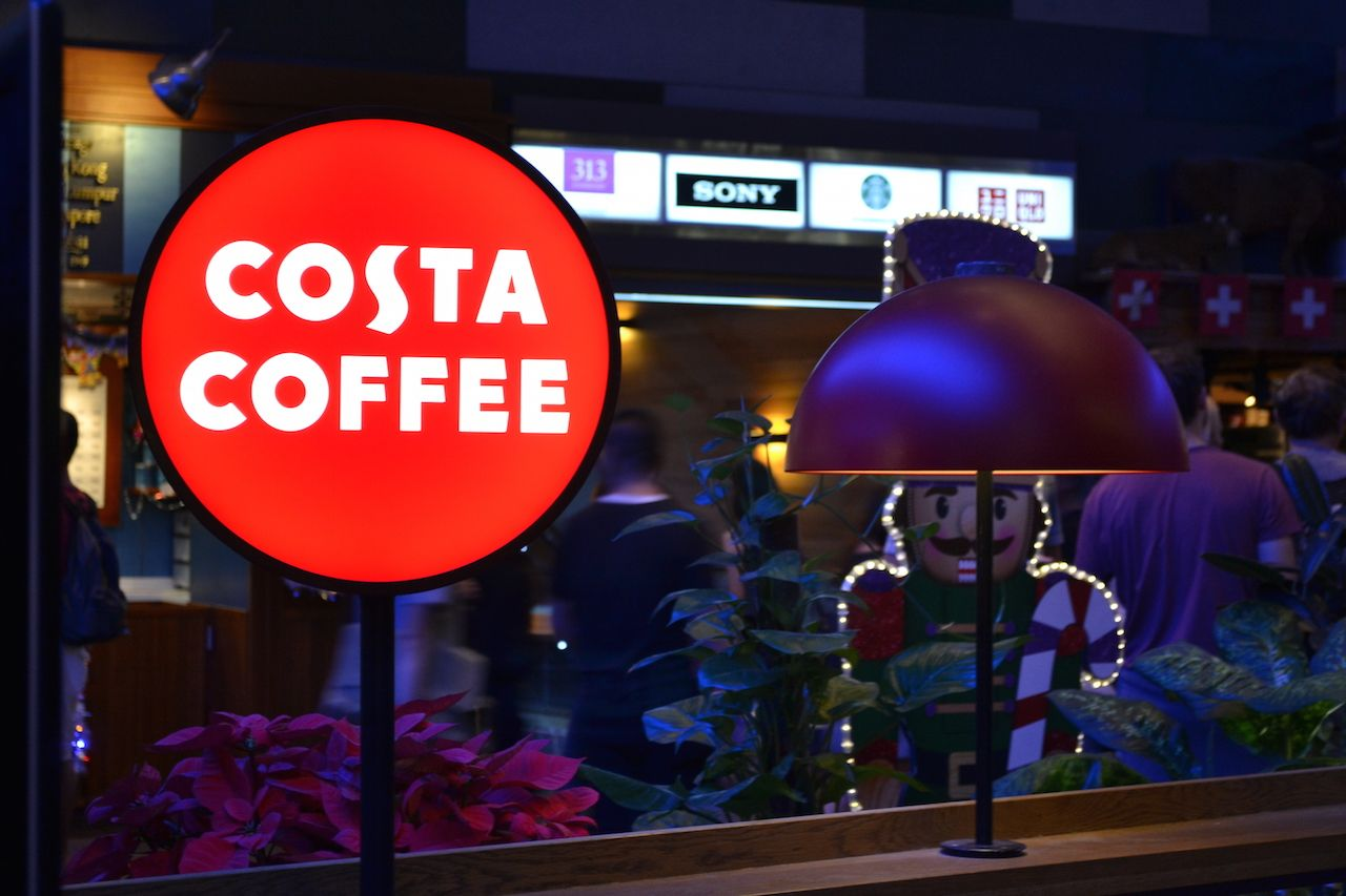 Costa Coffee 313 Orchard Road Ocm Cafe And Cake Guide Singapore Costa Coffee Costa Coffee