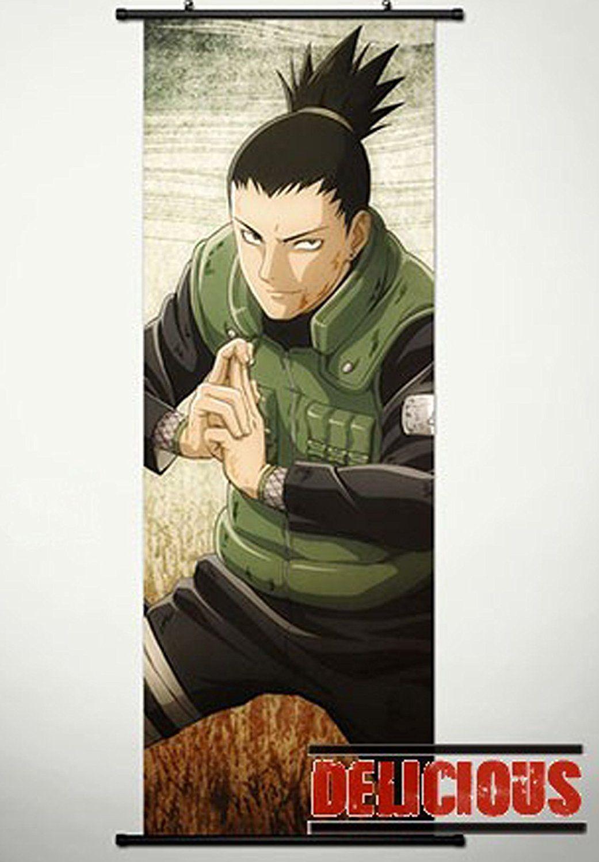 Home decor japanese anime naruto cosplay wall scroll