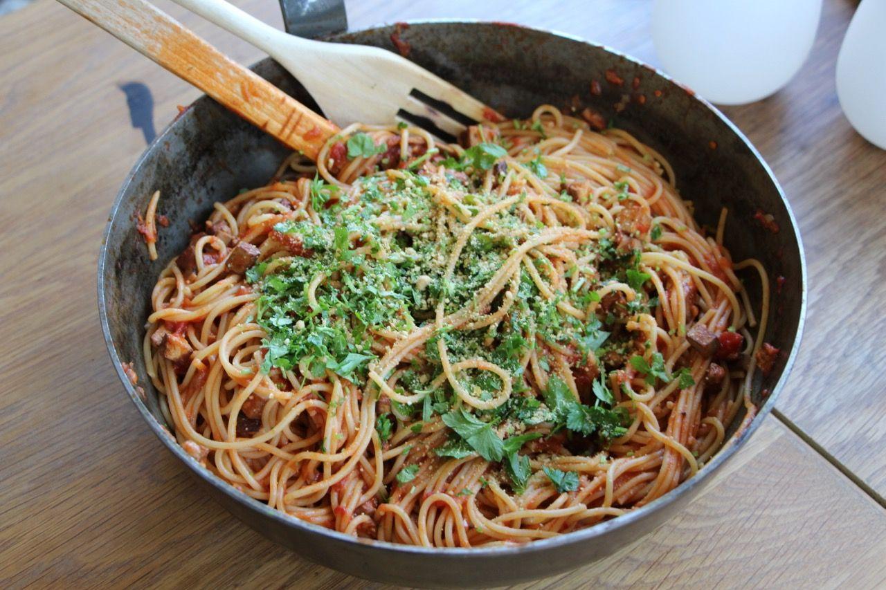 jävligt gott pasta