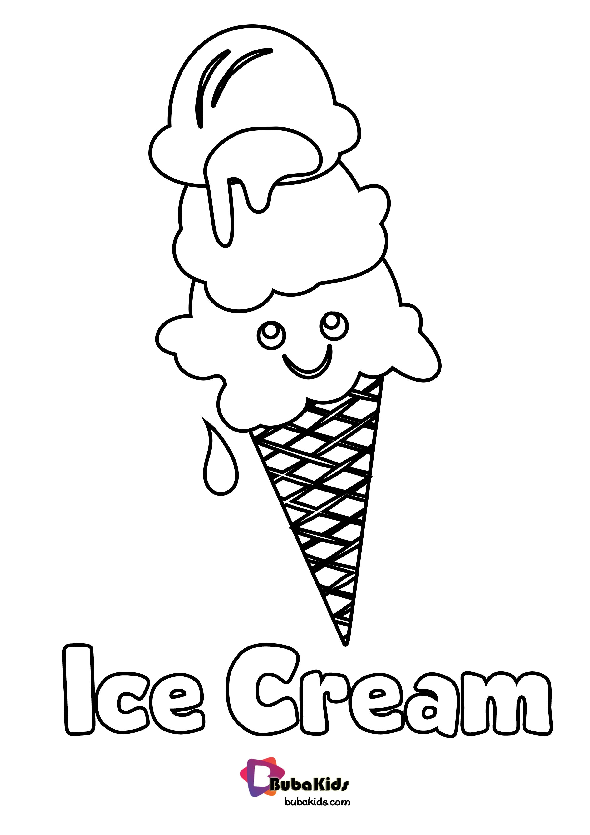 Ice Cream Coloring Pages Picture - Whitesbelfast | 3508x2480