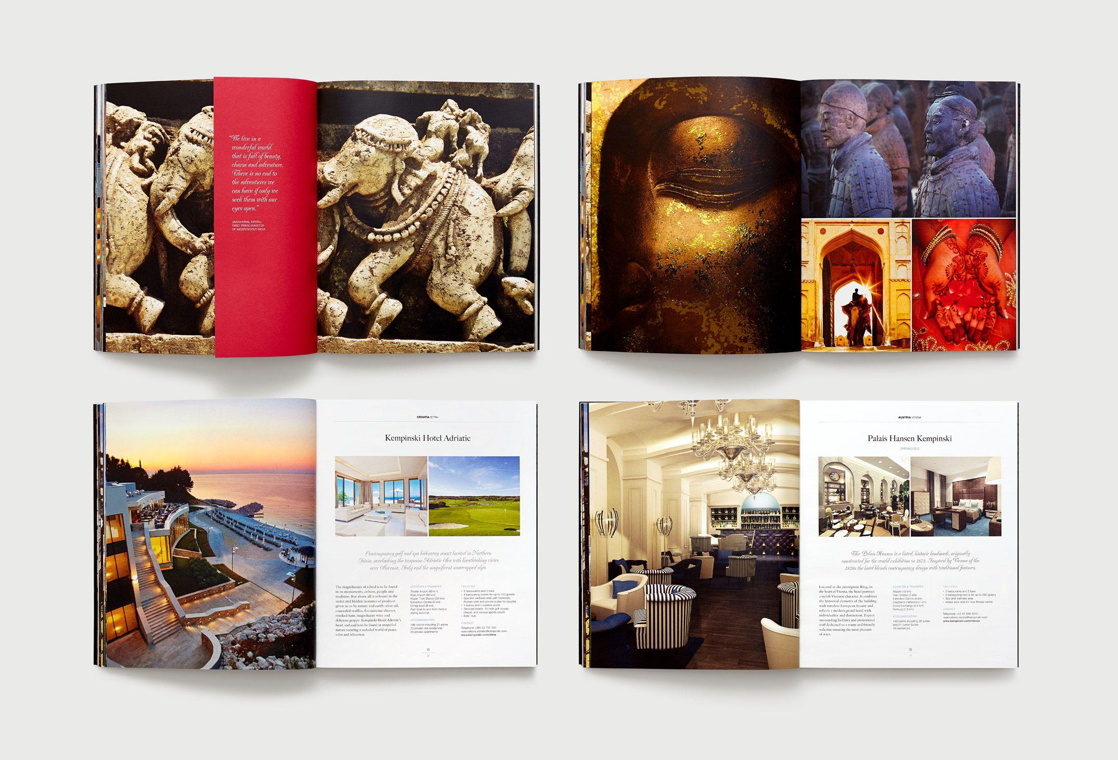 Inaria  Luxury Brand Design Consultants  Kempinski Hotels Brand