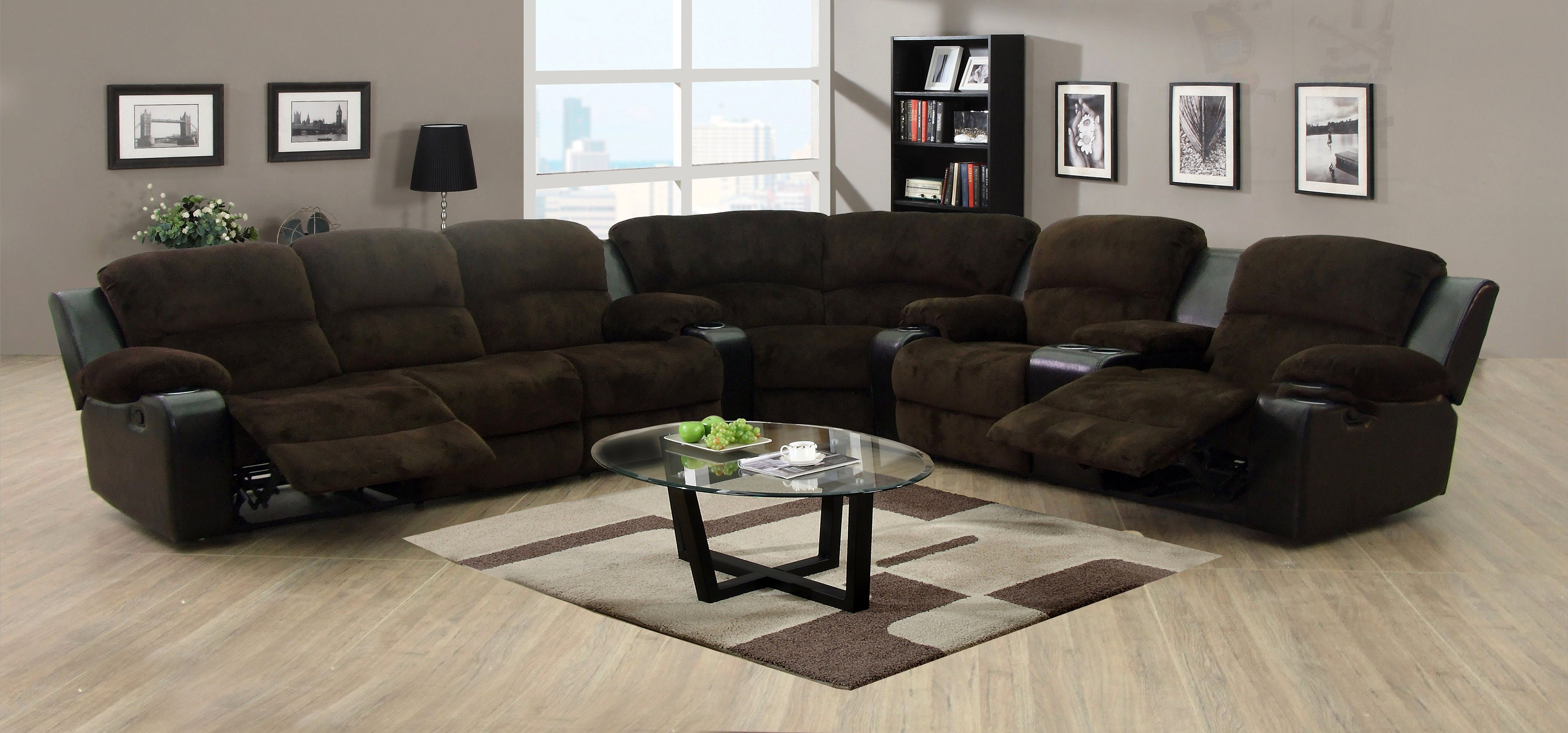 Nice Sectional Sofas With Recliners And Cup Holders Elegant