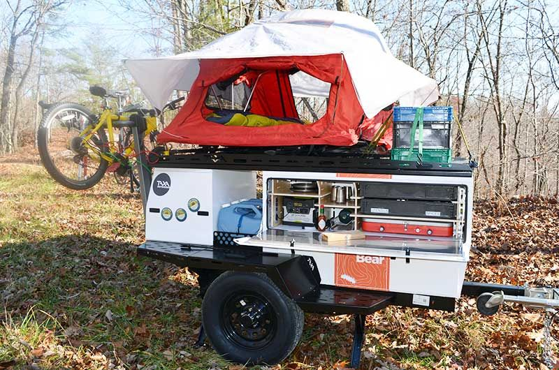 Woolly Bear Adventure Trailers Woolly Bear Camping Trailer